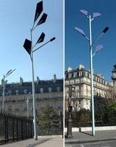 Lampione urbano / moderno / in metallo / LED