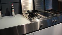 Piano di lavoro in acciaio inox / da cucina