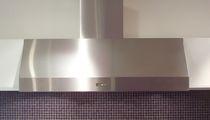 Cappa a muro / con illuminazione integrata
