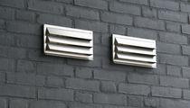 Griglia di ventilazione in metallo / rettangolare / per cucina