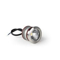 Faretto da incasso / da interno / LED / rotondo