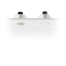 Faretto da incasso / da interno / LED / quadrato