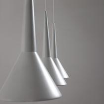 Lampada a sospensione / moderna / in alluminio / in legno