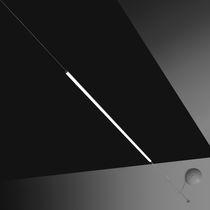 Lampada sospesa / moderna / in alluminio verniciato / in metacrilato