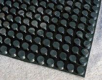 Membrana drenante in gomma / di drenaggio / resistente a carichi elevati / per tetti piani