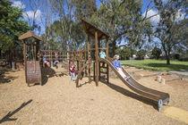 Struttura ludica in legno / per parco giochi