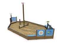 Vasca di sabbia per parco giochi