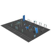Area fitness per esterni