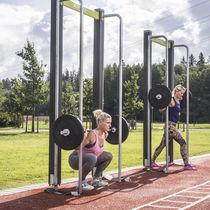 Attrezzo per bodybuilding squat / da esterno
