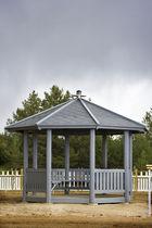 Gazebo in legno / per spazio pubblico