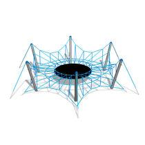 Struttura d'arrampicata con trampolino / per parco giochi