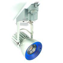 Faretti a binario LED / rotonda / in alluminio anodizzato / per hotel