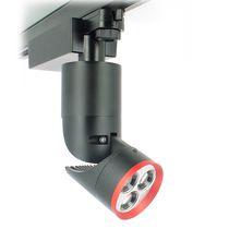 Faretti a binario LED / rotonda / in alluminio / per hotel