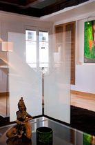 Pellicola decorativa adesiva / per applicazione su vetro / per facciate