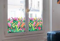 Pellicola decorativa adesiva / per applicazione su vetro / per finestra