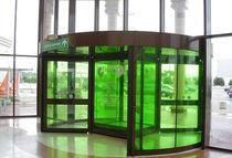 Pellicola decorativa adesiva / trasparente / colorata / per applicazione su vetro
