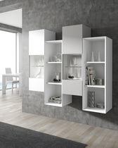 Scaffale a muro / moderno / in legno / in legno laccato