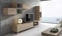 Mobile TV moderno / modulare / hi-fi / in legno