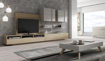 Parete attrezzata TV moderno / in legno / hi-fi