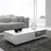 Tavolino basso / moderno / in legno / rettangolare