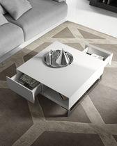 Tavolino basso / moderno / in legno / quadrato