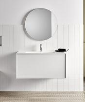 Specchio da bagno a muro / moderno / rotondo
