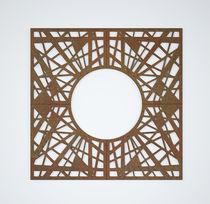 Griglia per alberi in acciaio / in acciaio COR-TEN® / quadrata / rotonda