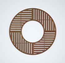 Griglia per alberi in acciaio galvanizzato / in acciaio COR-TEN® / quadrata / rotonda