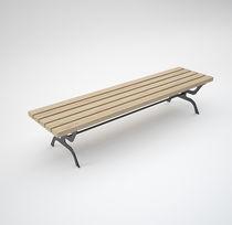 Panca pubblica / da giardino / per spogliatoio / moderna