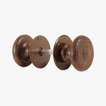Pomello per porta classico / in ferro battuto