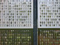 Rivestimento di facciata in alluminio / in acciaio inox / perforato / in pannello