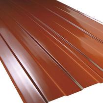 Lastra per copertura in alluminio / in rame / in poliestere