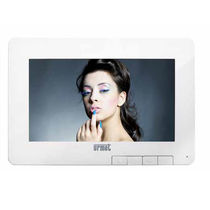 Videocitofono a colori / touch screen / bianco