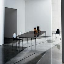 Tavolo da pranzo moderno / in legno / in ceramica / in vetro temprato