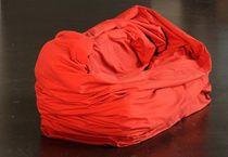 Poltrona a sacco moderna / in cotone
