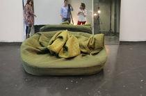 Poltrona a sacco design originale / in tessuto