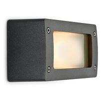 Applique classica / da esterno / in alluminio / alogena