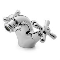 Miscelatore doppio comando per bidet / da appoggio / in ottone / da bagno