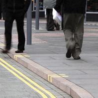 Bordura per marciapiede / in granito / lineare