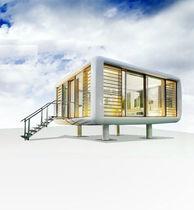 Micro-casa prefabbricata / design / ecologica