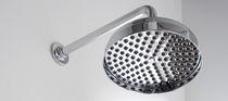 Soffione doccia da parete / rotondo
