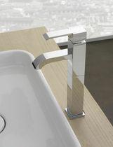 Miscelatore per lavabo / in metallo cromato / in nichel / da bagno