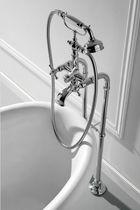 Miscelatore doppio comando per vasca / da parete / in nichel / in metallo cromato