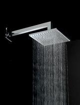 Soffione doccia da parete / quadrato