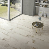 Piastrella da parete / per pavimento / in gres porcellanato / anticata