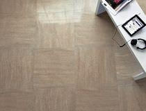 Piastrella da pavimento / in gres porcellanato / lucidata / aspetto pietra