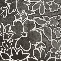 Piastrella da parete / in gres porcellanato / motivi floreali / lucida