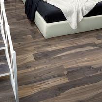 Piastrella da pavimento / in gres porcellanato / lucidata / aspetto parquet