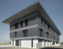 Rivestimento di facciata in ceramica / opaco / aspetto metallo / per facciata ventilata