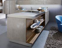Pannello decorativo per arredamento di interni / per cucina / in ceramica / a effetto dimensionale